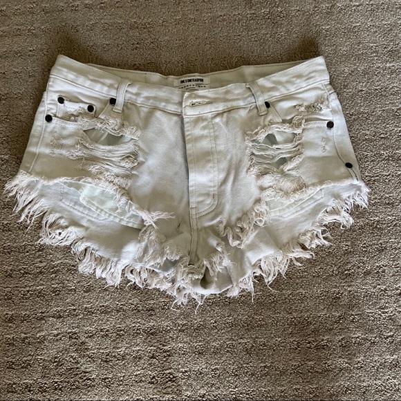 One Teaspoon Pants - one teaspoon cutoff shorts